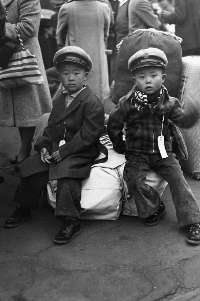 Japanese-American Childr... is listed (or ranked) 8 on the list Photos Of Japanese Internment Camps During WWII