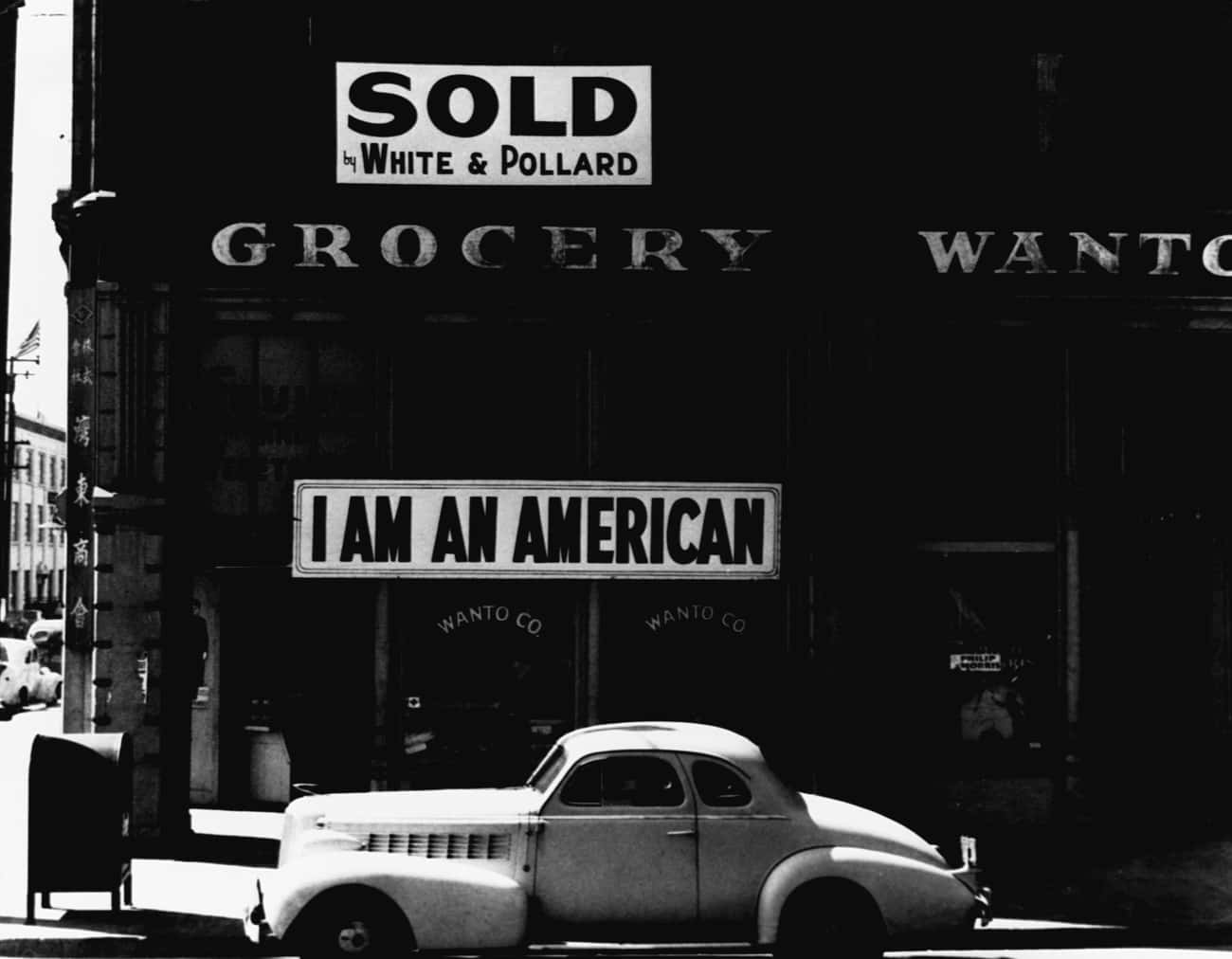 An Oakland Grocery Store, Owne is listed (or ranked) 4 on the list Photos Of Japanese Internment Camps During WWII