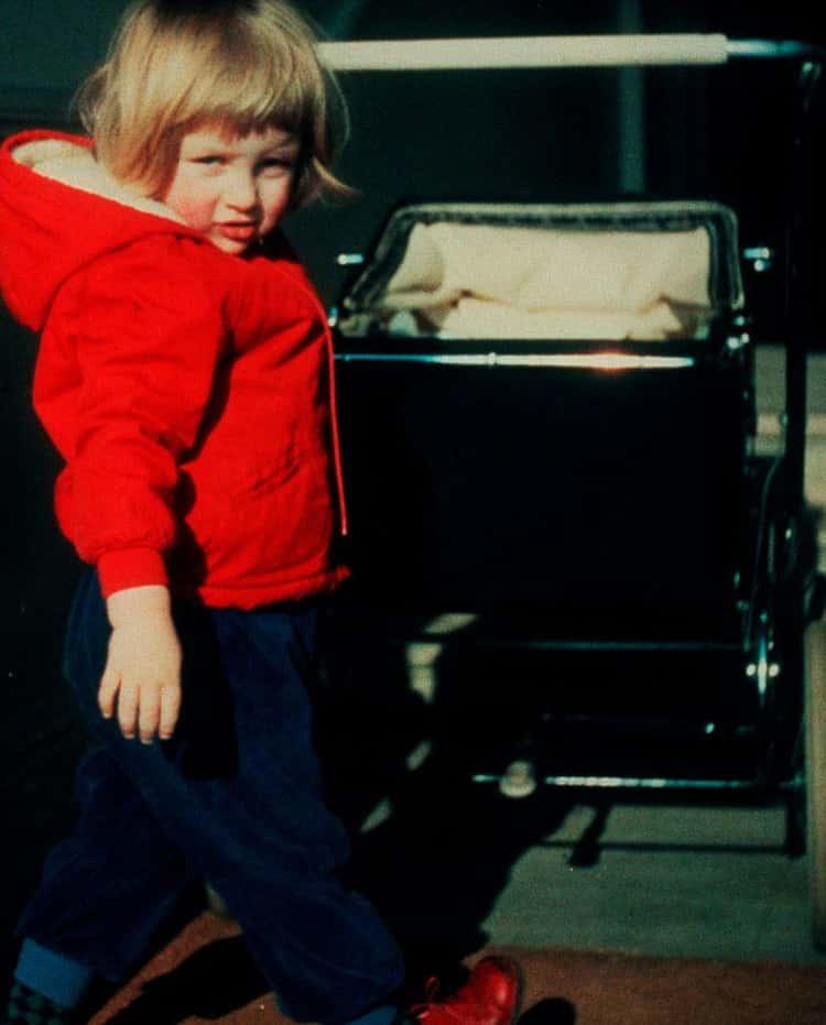 Diana As A Toddler