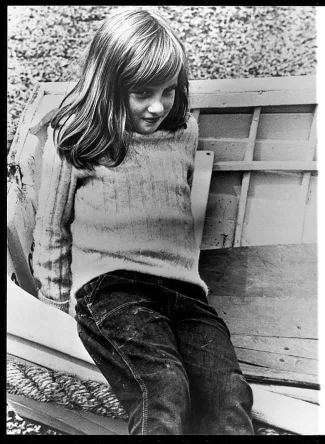 A Shy Girl is listed (or ranked) 3 on the list Rare Photos Of Princess Diana