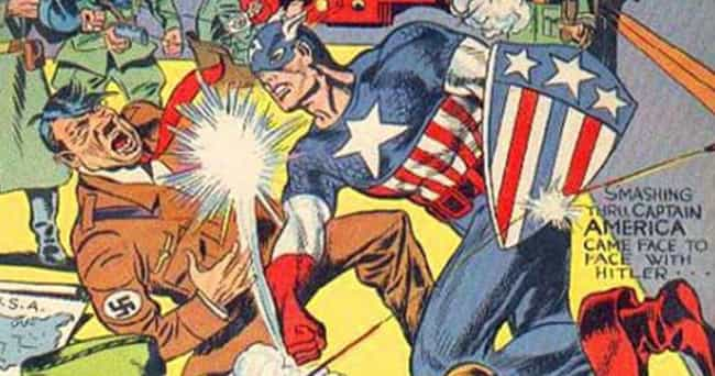 Captain America Comics - 1941 is listed (or ranked) 1 on the list The Evolution Of Captain America's Uniform Over The Last 76 Years