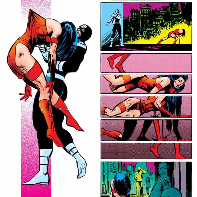 Bullseye Skewered Elektra With... is listed (or ranked) 1 on the list Times Bad Guys Actually Managed To Kill Marvel Heroes