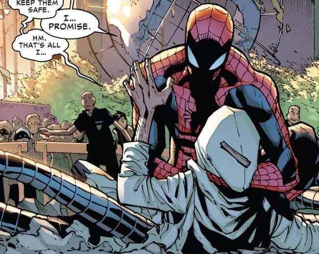Doctor Octopus Erased Peter Pa... is listed (or ranked) 2 on the list Times Bad Guys Actually Managed To Kill Marvel Heroes