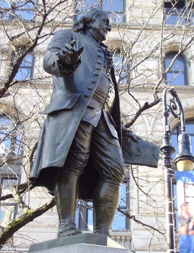 Benjamin Franklin's Haun... is listed (or ranked) 3 on the list The Freakiest Paranormal Legends From Philadelphia, The City Of Brotherly Love
