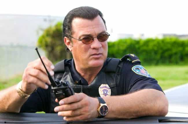 Steven Seagal Was Never Not A ... is listed (or ranked) 3 on the list 12 Weird Jobs Steven Seagal Has Had (Or At Least Claimed To Have Had)