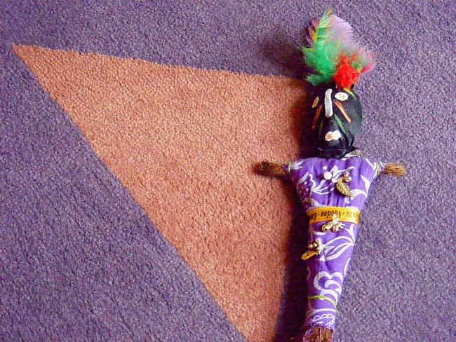Collect An Item From The... is listed (or ranked) 2 on the list 10 Steps Toward Making A Voodoo Doll