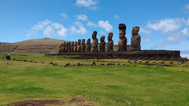 Moving The Moai Required... is listed (or ranked) 3 on the list How The Civilization On Easter Island Collapsed