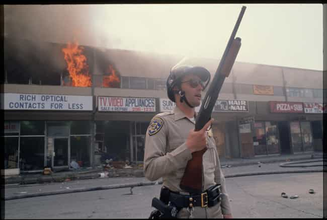 A California Highway Pat... is listed (or ranked) 1 on the list 27 Unbelievable Photos From The LA Riots