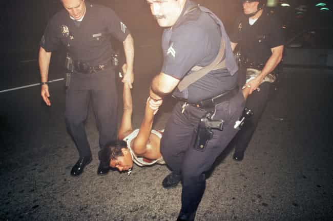 Police Arresting An Inju... is listed (or ranked) 3 on the list 27 Unbelievable Photos From The LA Riots