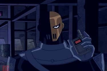 Slade Is A Formidable Villain is listed (or ranked) 2 on the list Teen Titans Is The Greatest DC Superhero Cartoon Ever Made, Fight Me