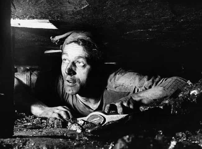 "A Miner Works A 13""... is listed (or ranked) 1 on the list 35 Photos Of Coal Miners That Will Make You Feel Like You're Underground"