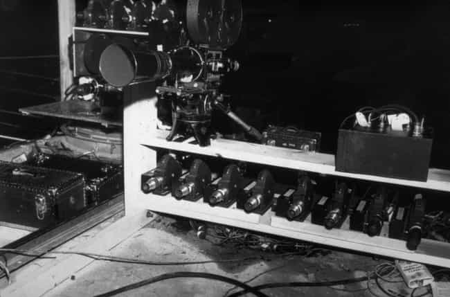 Cameras Were Set Up All ... is listed (or ranked) 4 on the list 21 Unbelievable Photos From The Detonation Of The First Atomic Bomb
