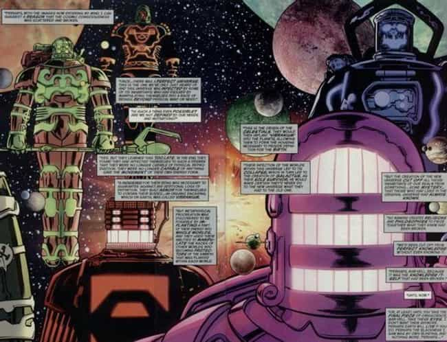 No One Knows Their Origi... is listed (or ranked) 3 on the list Things To Know About Marvel's Celestials