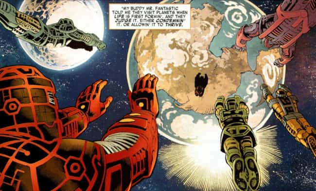 They Created The Multive... is listed (or ranked) 4 on the list Things To Know About Marvel's Celestials
