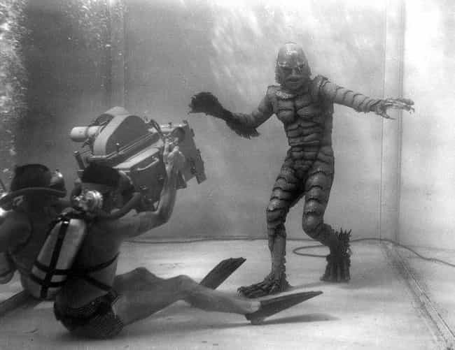 Underwater Filming, 'Creat... is listed (or ranked) 3 on the list Surprising Photos Of Old School Visual Effects From Before The Heyday Of CGI