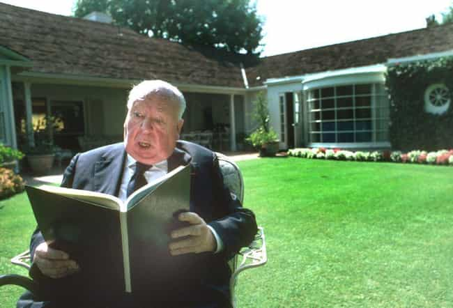 Reading Aloud In His Bev... is listed (or ranked) 7 on the list Photos Of Alfred Hitchcock As You've Never Seen Him Before