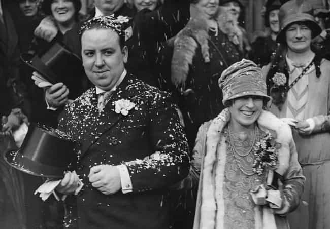 With Wife Alma Reville A... is listed (or ranked) 2 on the list Photos Of Alfred Hitchcock As You've Never Seen Him Before