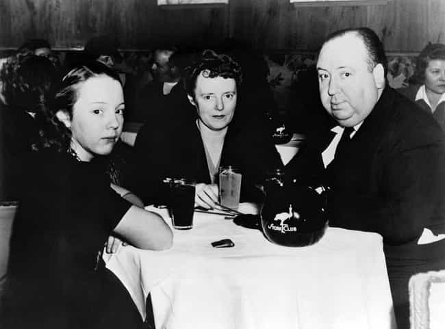 Dining With Wife Alma An... is listed (or ranked) 6 on the list Photos Of Alfred Hitchcock As You've Never Seen Him Before