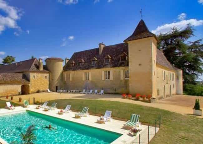 Chateau Cardoux-Saint-Ex... is listed (or ranked) 3 on the list 15 European Castles You Can Rent For Less Than $150