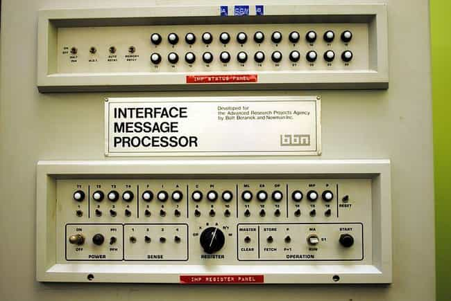 ARPANET, Predecessor Of ... is listed (or ranked) 7 on the list Photos Of 1960s Inventions When They Were New And Cool