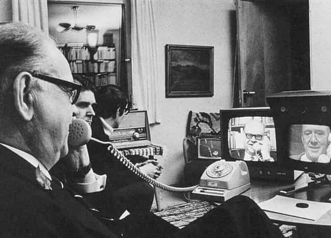 Picturephone (Video Chat... is listed (or ranked) 1 on the list Photos Of 1960s Inventions When They Were New And Cool