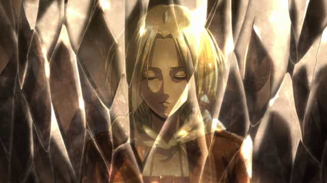 Annie's Crystal Is Buying ... is listed (or ranked) 2 on the list Attack On Titan Fan Theories