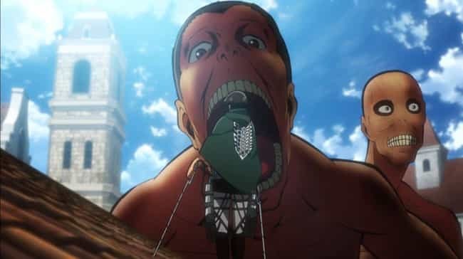 Titans Eat Humans Because They... is listed (or ranked) 3 on the list Attack On Titan Fan Theories
