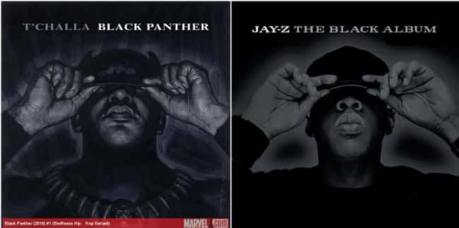 The Black Panther Meets ... is listed (or ranked) 3 on the list 32 Marvel Hip-Hop Variant Covers And The Album Covers They're Inspired By