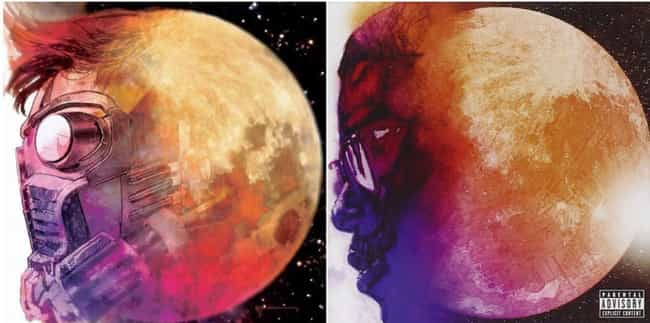 Star-Lord And Kid Cudi Are Bot... is listed (or ranked) 1 on the list 32 Marvel Hip-Hop Variant Covers And The Album Covers They're Inspired By