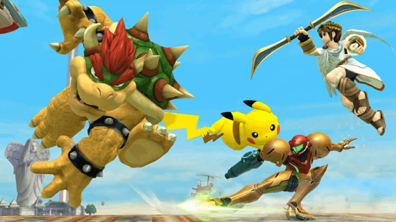Super Smash Bros. Didn't Inclu is listed (or ranked) 3 on the list 13 Best-Selling Video Games That Were Almost Totally Different