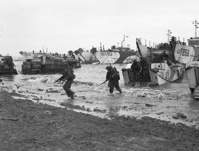 The Weather Forecast Played A ... is listed (or ranked) 2 on the list 14 Facts About The D-Day Invasion Most People Don't Know About