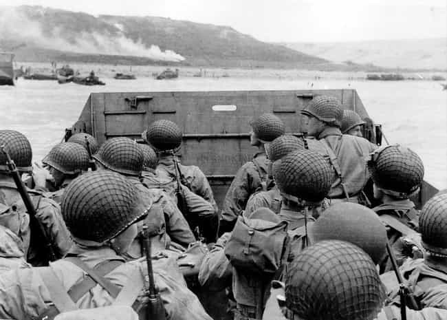 The Weather Forecast Played A ... is listed (or ranked) 2 on the list 14 Facts About The D-Day Invasion Most People Don't Know