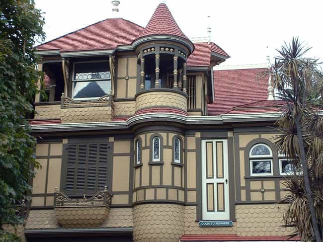 There Are Doors And Wind... is listed (or ranked) 1 on the list 13 Bizarre Facts About The Unfinished And Haunted Winchester Mystery House