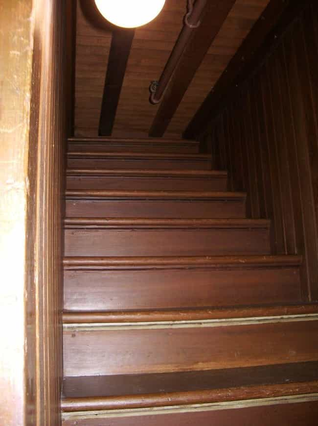 There Are Some Pretty Un... is listed (or ranked) 4 on the list 13 Bizarre Facts About The Unfinished And Haunted Winchester Mystery House
