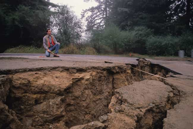 The 1989 Earthquake Occurred A... is listed (or ranked) 1 on the list 16 Devastating Photos From The 1989 Loma Prieta Earthquake