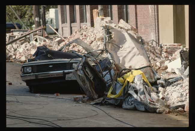 A Car Destroyed In The Quake, ... is listed (or ranked) 2 on the list 16 Devastating Photos From The 1989 Loma Prieta Earthquake