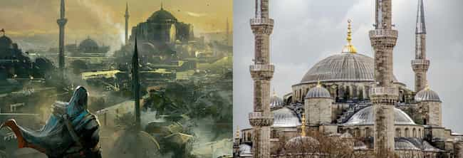 The Mosque In Assassin's Creed... is listed (or ranked) 2 on the list 24 Gaming Worlds Based On Real-Life Places