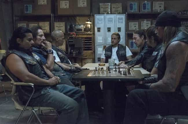 Characters Are Richly De... is listed (or ranked) 4 on the list Sons Of Anarchy Is Still The Most Underrated Show On TV