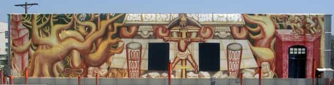 La América Tropical (1932) is listed (or ranked) 1 on the list The Craziest Mexican Murals and the Revolutionary History Behind Them