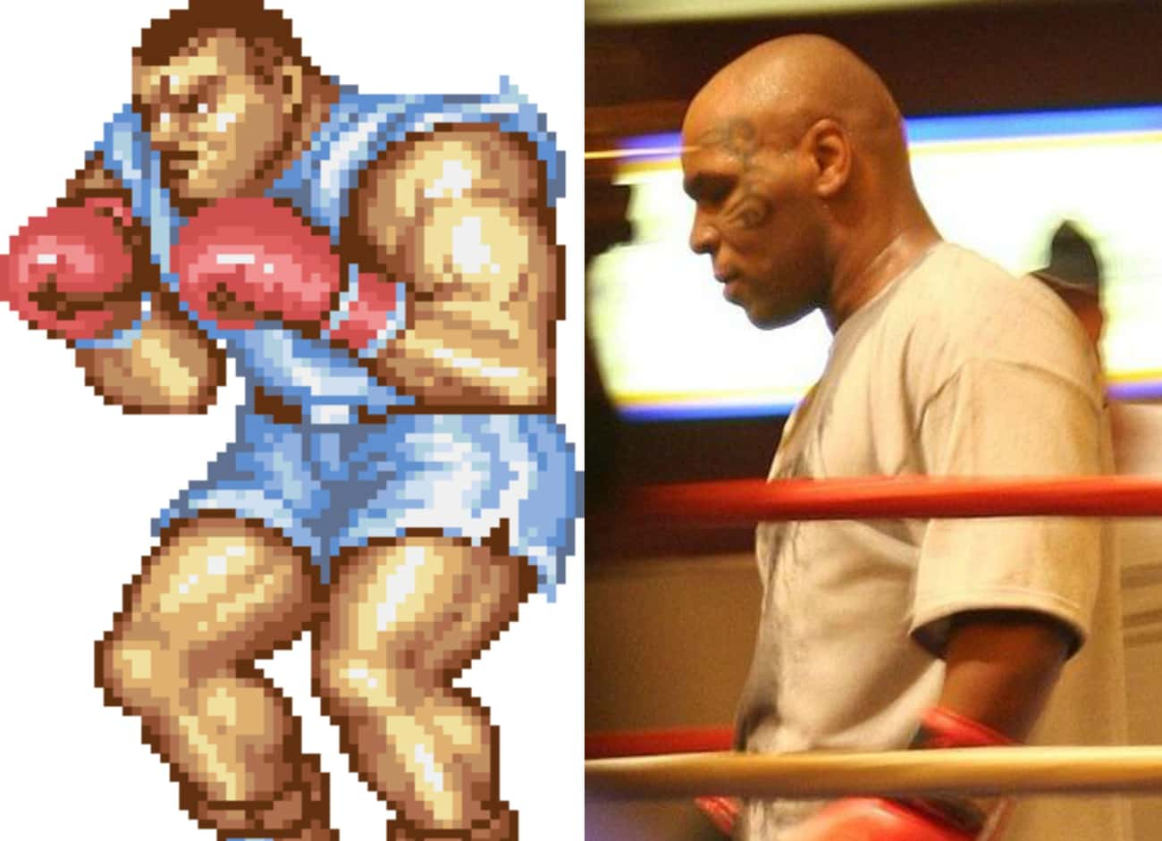 Balrog From Street Fighter Is  is listed (or ranked) 3 on the list 16 Video Game Characters We Should Have Known Are Modeled After Famous People