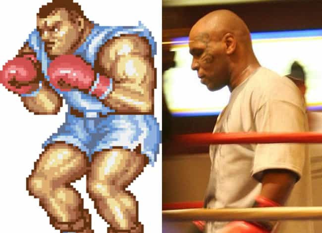 Balrog From Street Fight... is listed (or ranked) 2 on the list 16 Video Game Characters We Should Have Known Are Modeled After Famous People