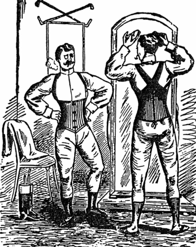 Some Men Wore Corsets is listed (or ranked) 2 on the list 11 Facts You Didn't Know About Corsets