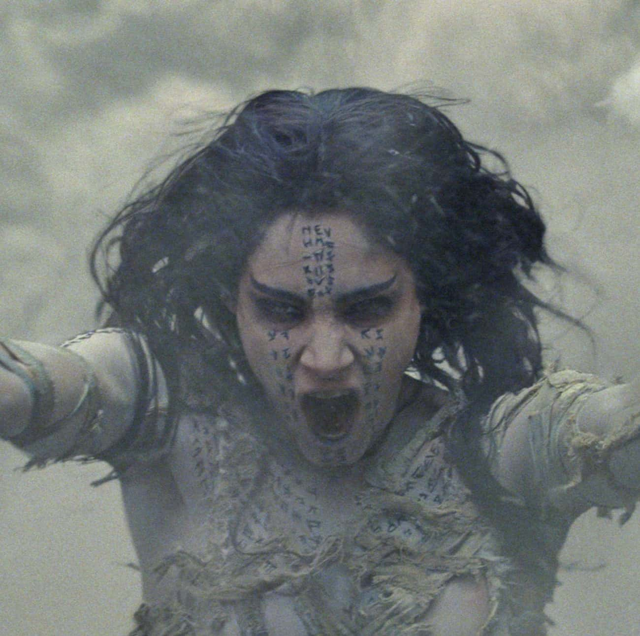 A Being with Unimaginable Powe is listed (or ranked) 4 on the list The Mummy 2017 Movie Quotes