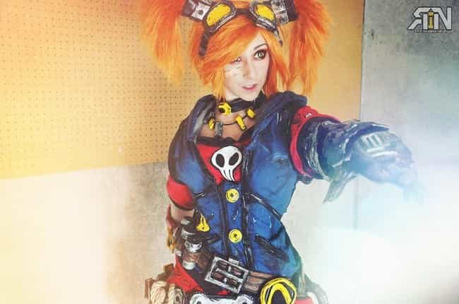 Gaige From 'Borderlands 2&... is listed (or ranked) 4 on the list The Stunning Cosplay Of It's Raining Neon, A One-Woman Powerhouse Of Creativity