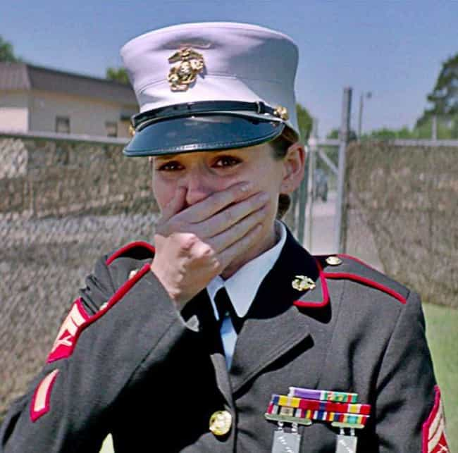 Teaching Me What Love Is... is listed (or ranked) 1 on the list Megan Leavey Movie Quotes