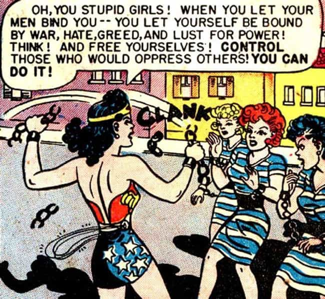He Believed That Women Would L... is listed (or ranked) 3 on the list The Kinky Origin Story Of Wonder Woman's Creator: William Moulton Marston