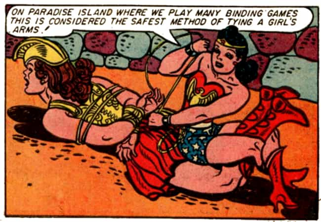 He Threw Lots Of Kinky Sex Par... is listed (or ranked) 2 on the list The Kinky Origin Story Of Wonder Woman's Creator: William Moulton Marston