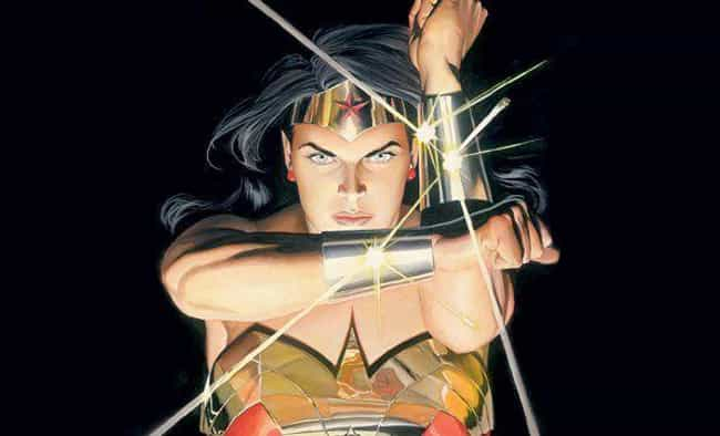 Wonder Woman's Bracelets M... is listed (or ranked) 4 on the list The Kinky Origin Story Of Wonder Woman's Creator: William Moulton Marston