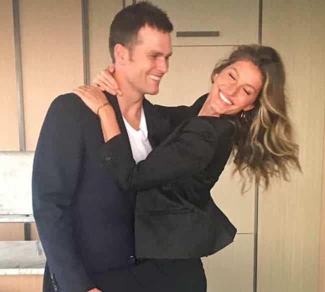 Tom Brady And Gisele Bun... is listed (or ranked) 2 on the list Celebrities Who Basically Dated Themselves