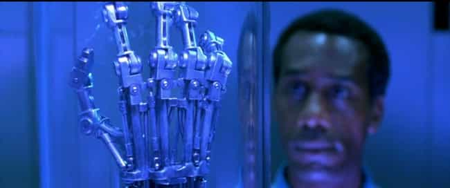 Skynet Sent Terminators ... is listed (or ranked) 4 on the list 12 Terminator Fan Theories That Are Just Crazy Enough To Be True